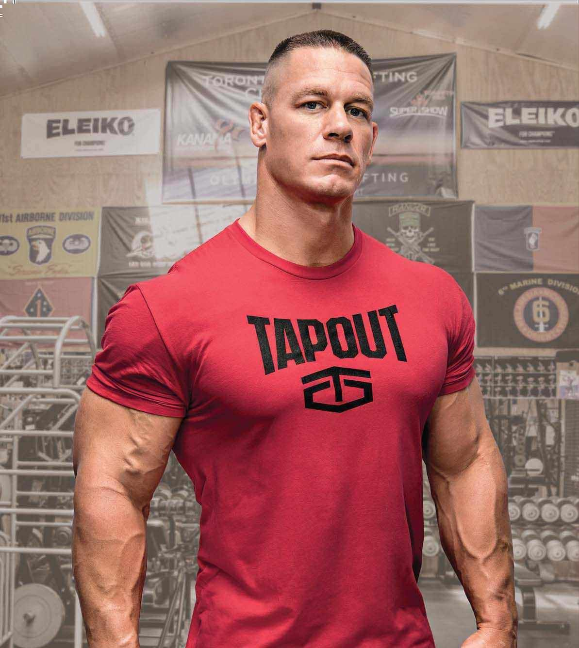 John cena has yet to peak - John cena gym image ...