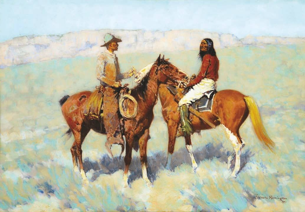 Classic Western Art Rules The Day