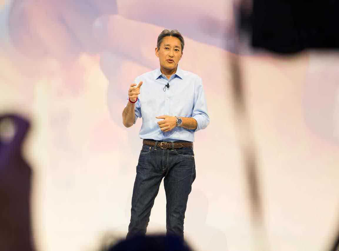 Sony Kenichiro Yoshida CEO Mobile Phone Financial Services