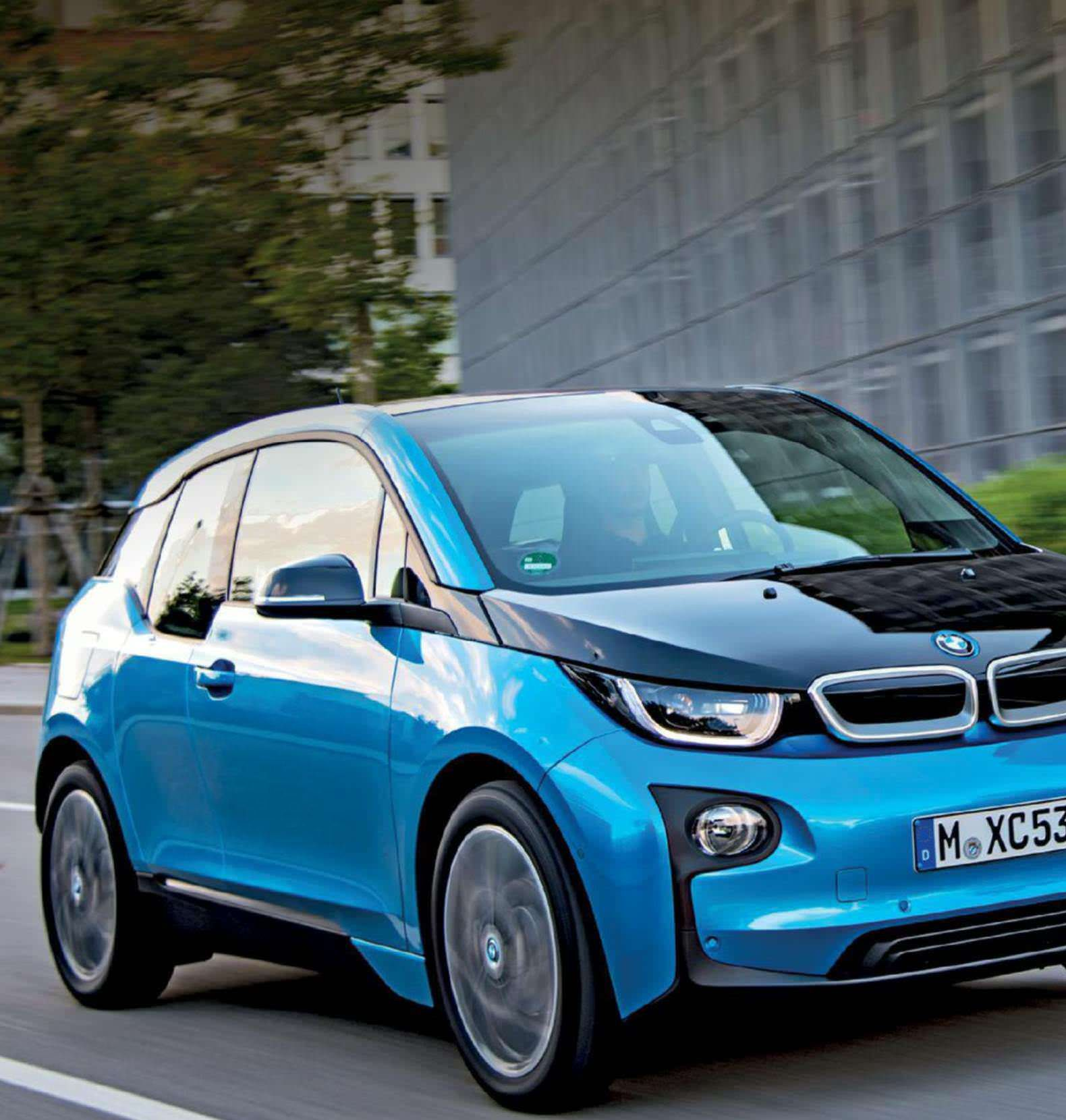 5 Reasons Why You Should Drive The BMW I3