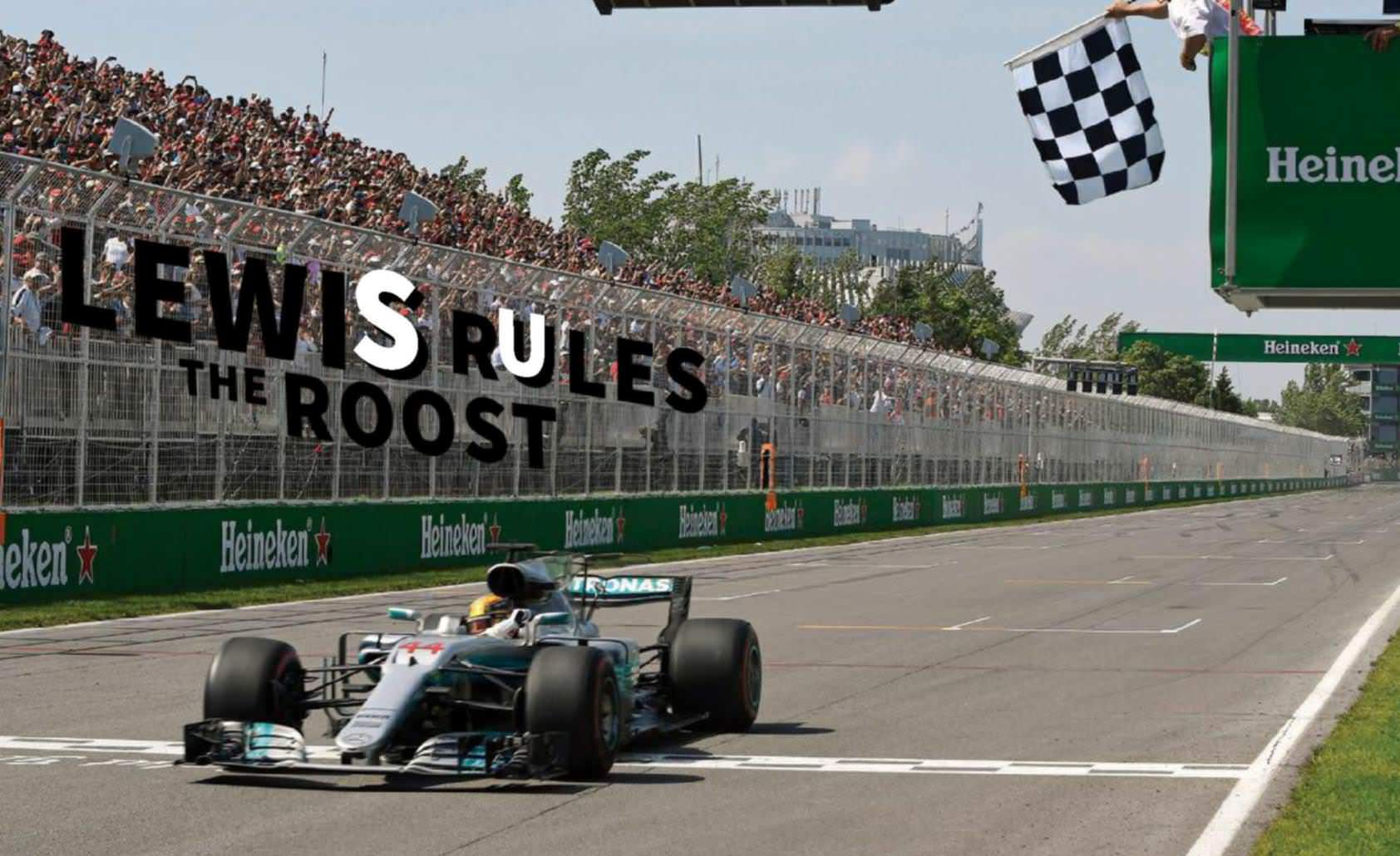 Lewis Rules The Roost