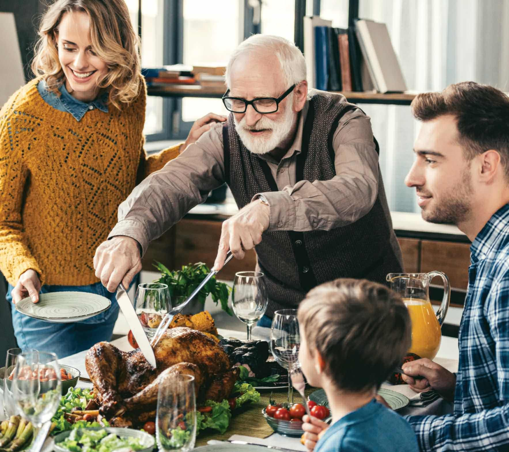 Holiday Thanksgiving Food Health Diet