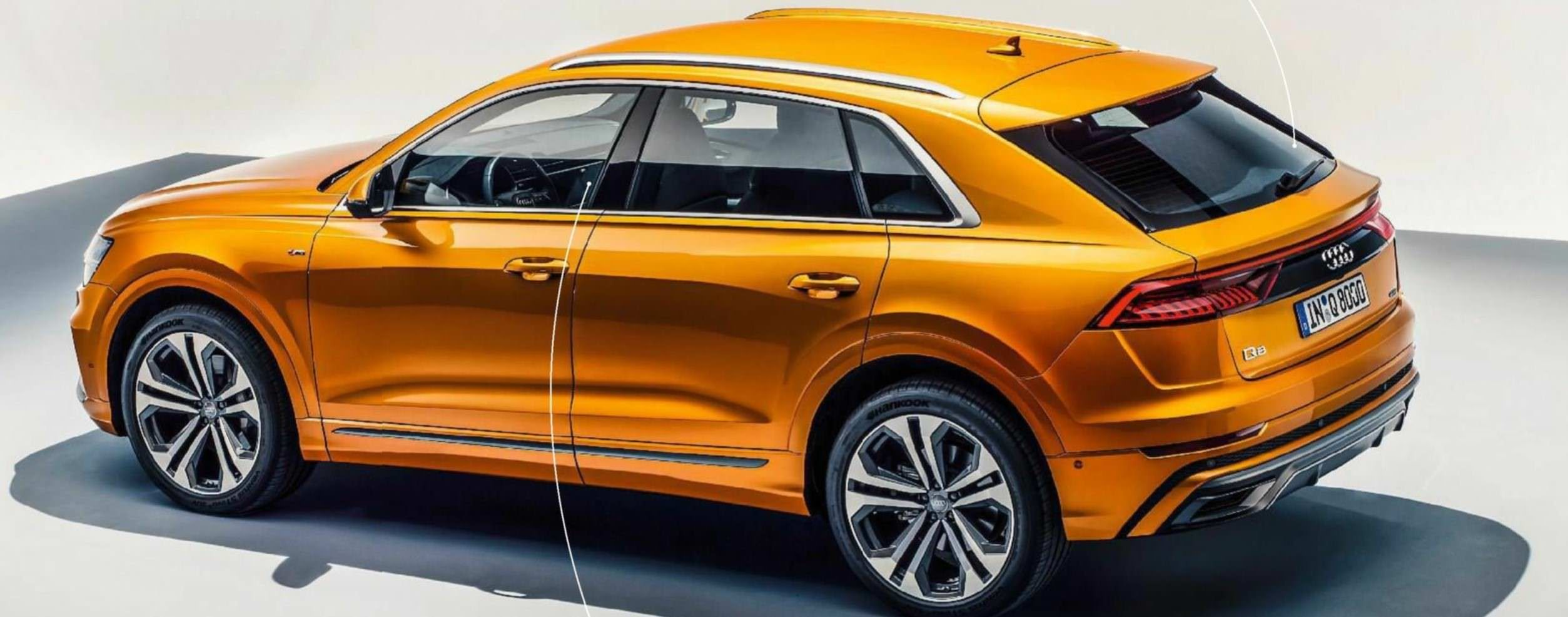 Audi Q8 Joins The CoupeSUV Party