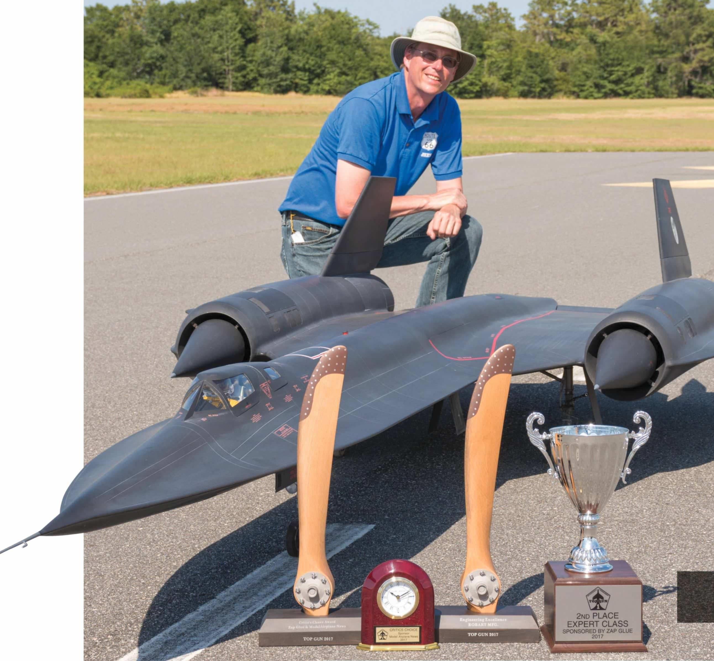 Lance Campbell's Amazing Lockheed SR-71 Blackbird