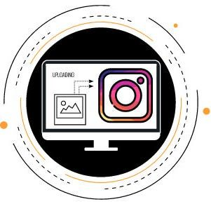 how toupload images to instagram from your pc