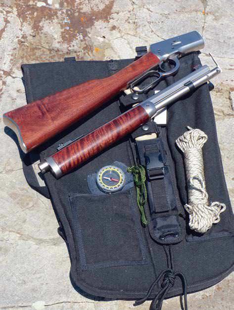 Skinner Sights' Bush Pilot Carbine Survival Kit