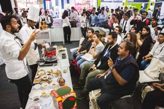 OLIVES FROM SPAIN participates at Aahar for its fifth promotional campaign in India