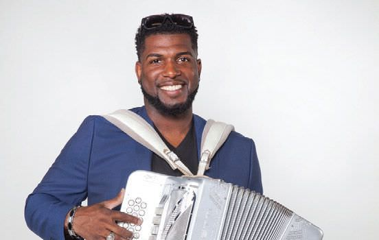 Nathan Williams Jr of Lil Nathan the Zydeco Big Timers
