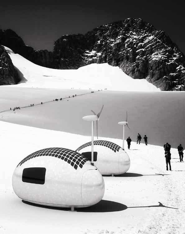 ecocapsule Now Camp aNywhere oN earth