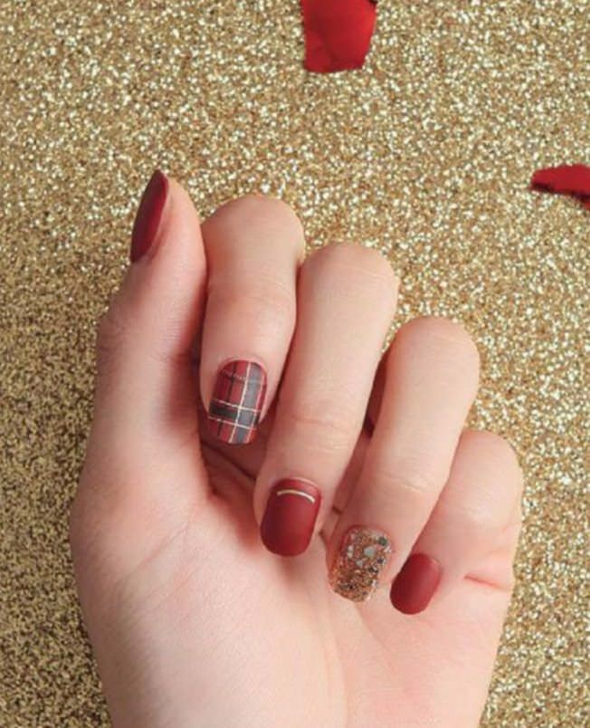DECKED OUT IN FANCY NAIL ART