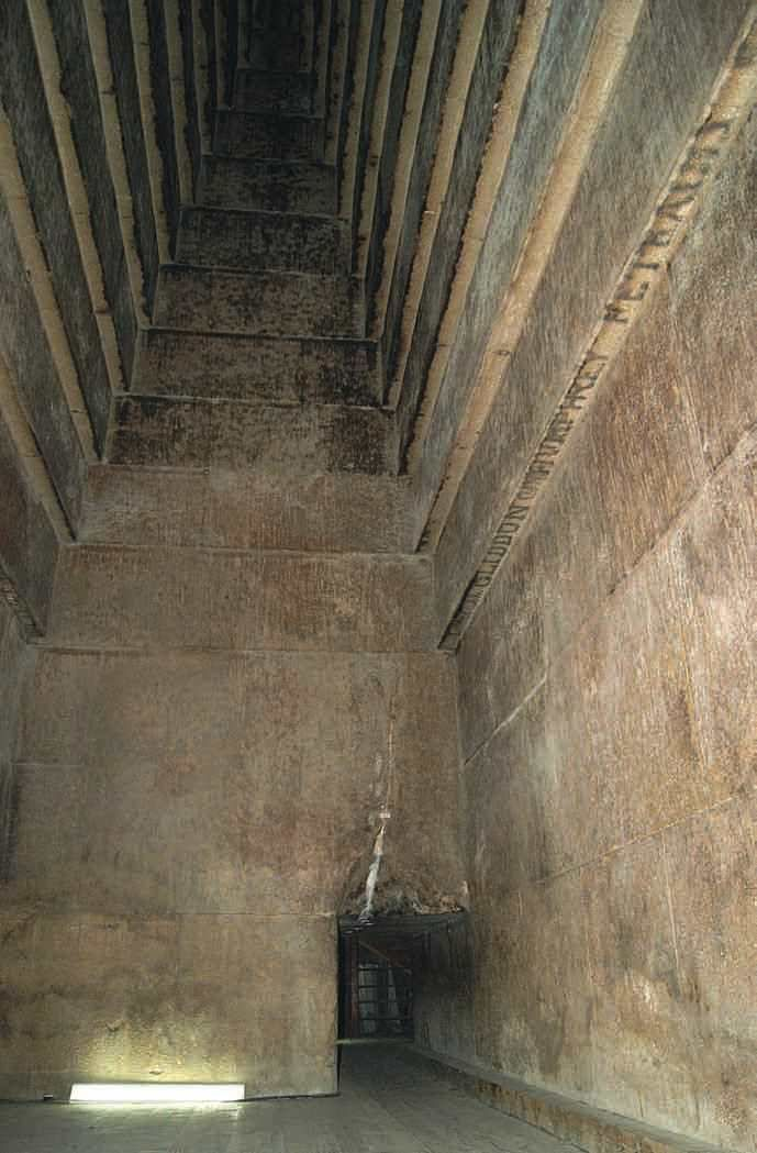 The Monumental Vaults in Pyramids A Major Technical Challenge