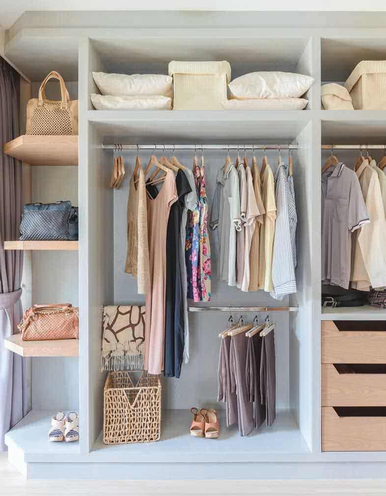 Wardrobe Closet Home Decor Interior
