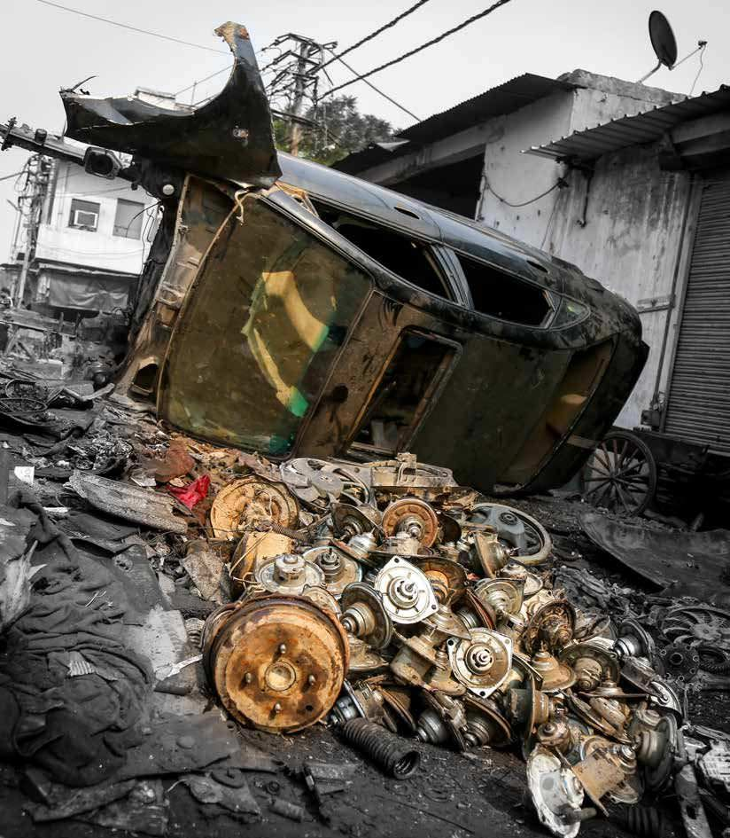 Mayapuri Asia S Largest Auto Scrap Yard