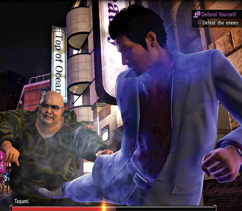 First Look Yakuza 6 The Song Of Life Ps4